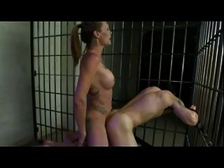 dildo held in by pantyhose