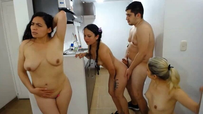 wife monster cock surprise